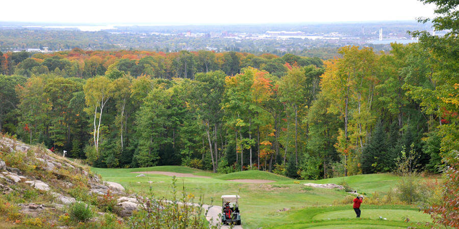 golfing is one of the things to do in sault ste marie